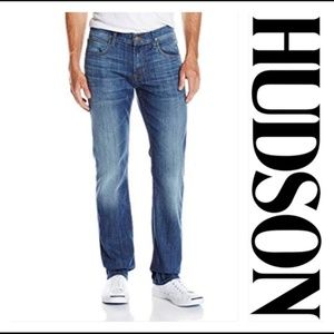 Men's Hudson Byron Straight Zip Fly Jeans